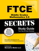 FTCE Middle Grades Mathematics 5 9 Secrets