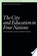 The City and Education in Four Nations