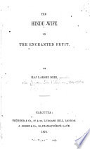 The Hindu Wife  Or  The Enchanted Fruit Book PDF