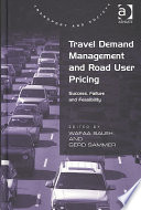 Travel Demand Management and Road User Pricing