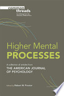 Higher Mental Processes Book PDF
