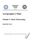 Aerographer s Mate  Module 5  Basic Meterology