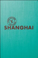 Copertina Libro Shangai. Ediz. italiana