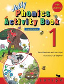 Jolly Phonics Activity Book 1  in Print Letters