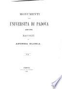 Monumenti della Universit   di Padova  1318 1405