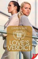 Love's Verdict Book Cover