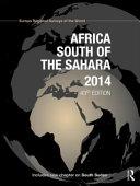 Africa South of the Sahara 2014