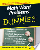Math Word Problems For Dummies