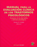 Manual Para La Evaluaci N Cl Nica De Los Trastornos Psicol Gicos