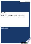 COM/DCOM und Software-Architektur