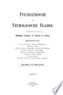 Psychiatrische en Neurologische Bladen