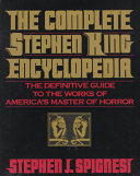 The Complete Stephen King Encyclopedia