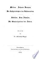 Thomas Babington Macaulay's ausgewählte Schriften geschichtlichen und literarischen Inhalts