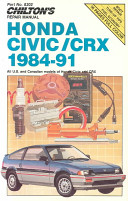 Honda Civic CRX  1984 91