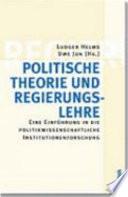 Politische Theorie und Regierungslehre