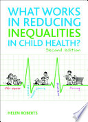 download ebook what works in reducing inequalities in child health? pdf epub