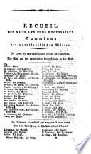 Auswahl französischer und deutscher Gespräche