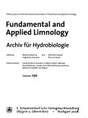 Fundamental and Applied Limnology