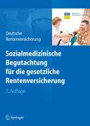 Sozialmedizinische Begutachtung für die gesetzliche Rentenversicherung