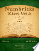 Numbricks Mixed Grids Deluxe   Hard   Volume 7   468 Logic Puzzles
