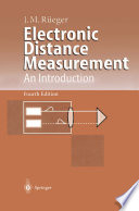 Electronic Distance Measurement