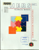 Hers Home Energy Rating System Technical Manual