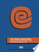 XIII Censo Industrial  Resultados definitivos  Resumen general  Censos Econ  micos 1989