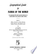 Geographical Guide to Floras of the World