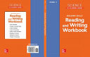 Science, A Closer Look, Grade 3, Reading and Writing in Science Workbook