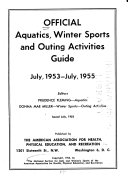 Official Aquatics, Winter Sports, and Outing Activities Guide