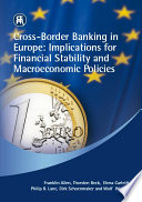 Cross border Banking in Europe