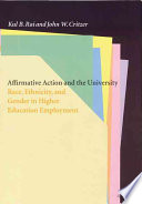Affirmative Action and the University