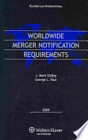 Worldwide Merger Notification Requirements