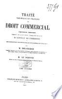 Trait Th Orique Et Pratique De Droit Commercial