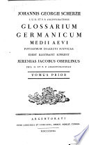 Johannis Georgii Scherzii