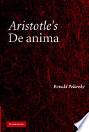 Aristotle s De Anima