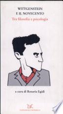 Wittgenstein e il Novecento