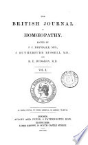 The British Journal of Homeopathy   Vol  X
