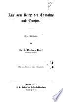 Aus dem Reiche des Tantalus und Croesus