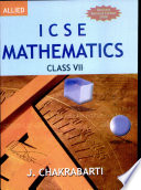 Icse Mathematics For Class Vii