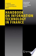 Handbook on Information Technology in Finance