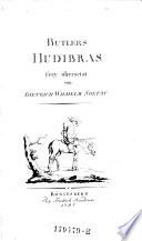 Hudibras frey übersetzt von Dietrich Wilhelm Soltau