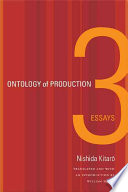 Ontology of Production: Three Essays