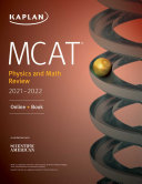 Mcat Physics And Math Review 2021 2022