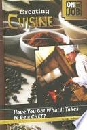 illustration du livre Creating Cuisine