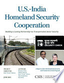 U S  India Homeland Security Cooperation
