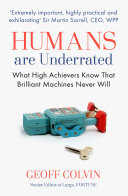 Humans Are Underrated Pdf/ePub eBook