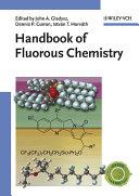 Handbook of Fluorous Chemistry