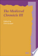 The Medieval Chronicle III