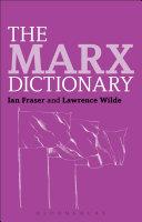 The Marx Dictionary